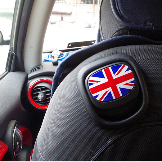 buy for bmw mini cooper jcw one f56 f55 rainbow paul smith union jack back seat. Black Bedroom Furniture Sets. Home Design Ideas