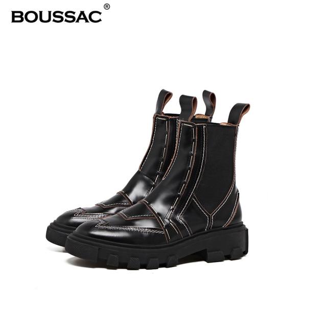 Femmes Rétro Bottes Chelsea Automne Hiver Bottes Ankle Bottes En Daim Zipper Bottes ( Color : Black , Size : 39 )