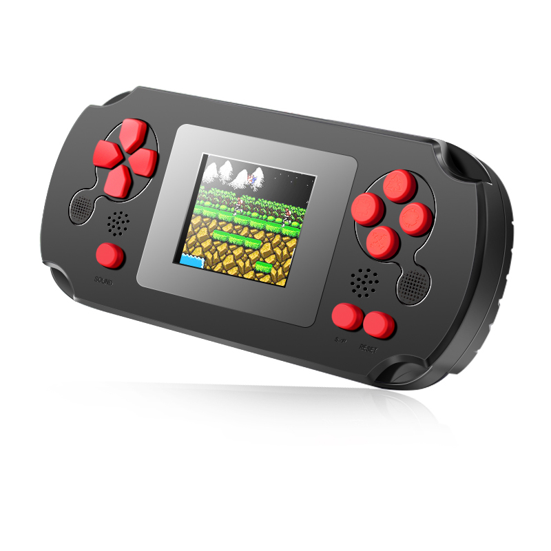 HOMEREALLY 8 BIT Classic Handheld Game Console Portable Retro Game Pocket Player Toys Built In 268 Classic Games-in Handheld Game Players from Consumer Electronics