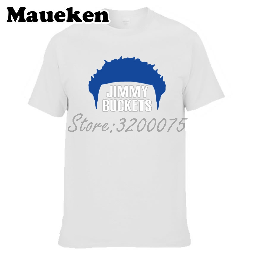 099b7788a687 Men Philadelphia Jimmy Butler 23 Buckets Hair T shirt Clothes T Shirt Men s  Tshirt For Fans Gift Tee W18091007-in T-Shirts from Men s Clothing on ...