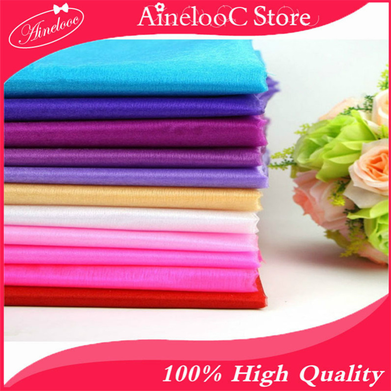 48cm*5M Or 10M Sheer Crystal Chenille Organza Tulle Roll Fabric 18 Colors for Wedding Decoration Home Party Decor Accessories 8Z