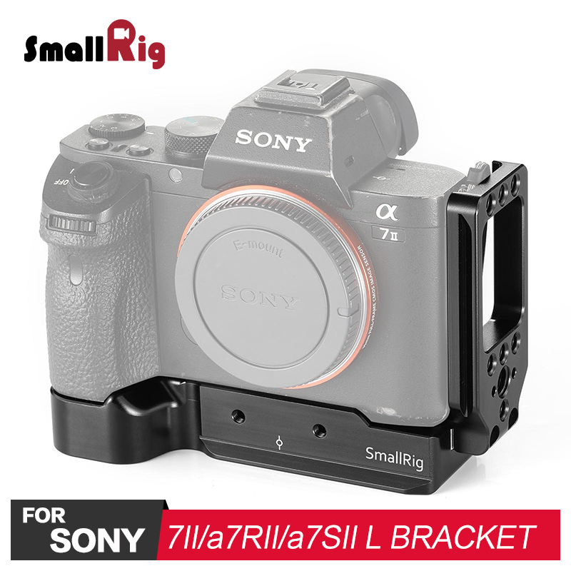 SmallRig L bracket for Sony a7II / a7RII / a7SII Camera L Plate Feature With Arca Style Plate for Quick Release 2278SmallRig L bracket for Sony a7II / a7RII / a7SII Camera L Plate Feature With Arca Style Plate for Quick Release 2278
