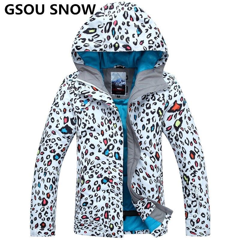 GSOU SNOW 2016 ski suit men  jacket men waterproof,breathable thermal cotton-padded super warm