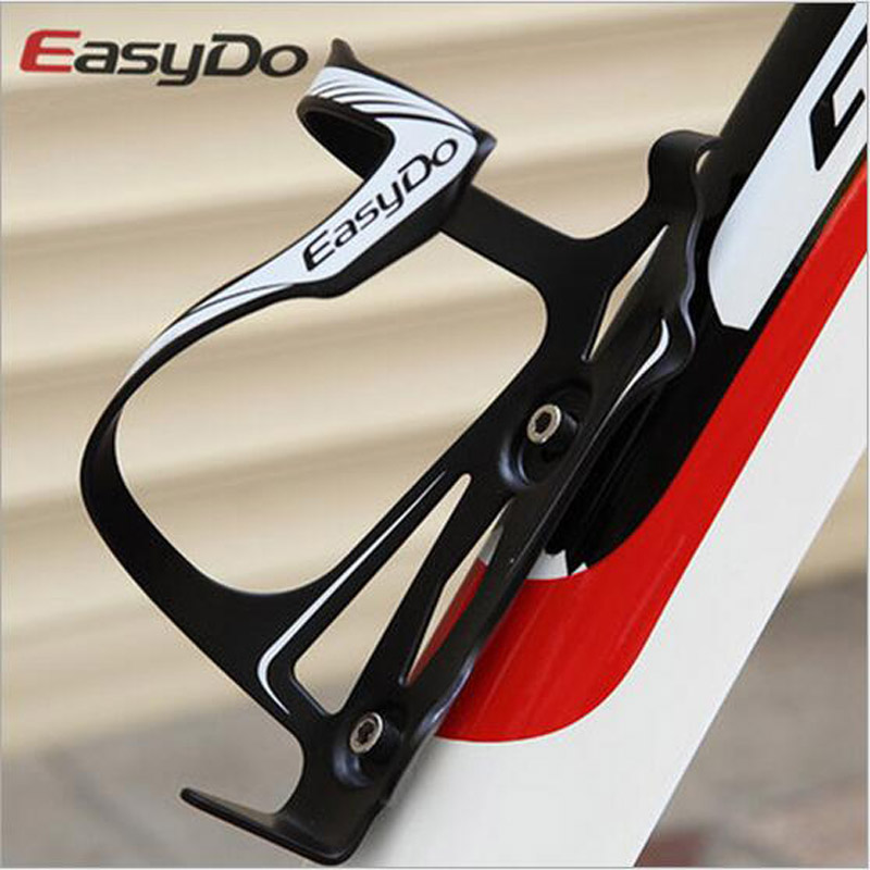 EasyDo Aluminum Ultralight Side-loading Design Glatt In-Mold Sterk Sykkel Sykkel Sykling Vannflaske Cage Holder 47g