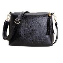 Damentaschen Handtaschen Frauen Berühmte Marken Feste Quaste Tasche 30*20 cm Pu-leder Crossbody Schulter umhängetasche Bolso Mujer