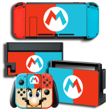 Odyssey Vinyl Skin Protector Sticker for Nintendo Switch NS Console + Controller + Stand Holder Protective Film color sticker