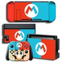 Odyssey vinil cilt koruyucu Sticker Nintendo anahtarı NS konsolu için + denetleyici + standı tutucu koruyucu Film renkli etiket