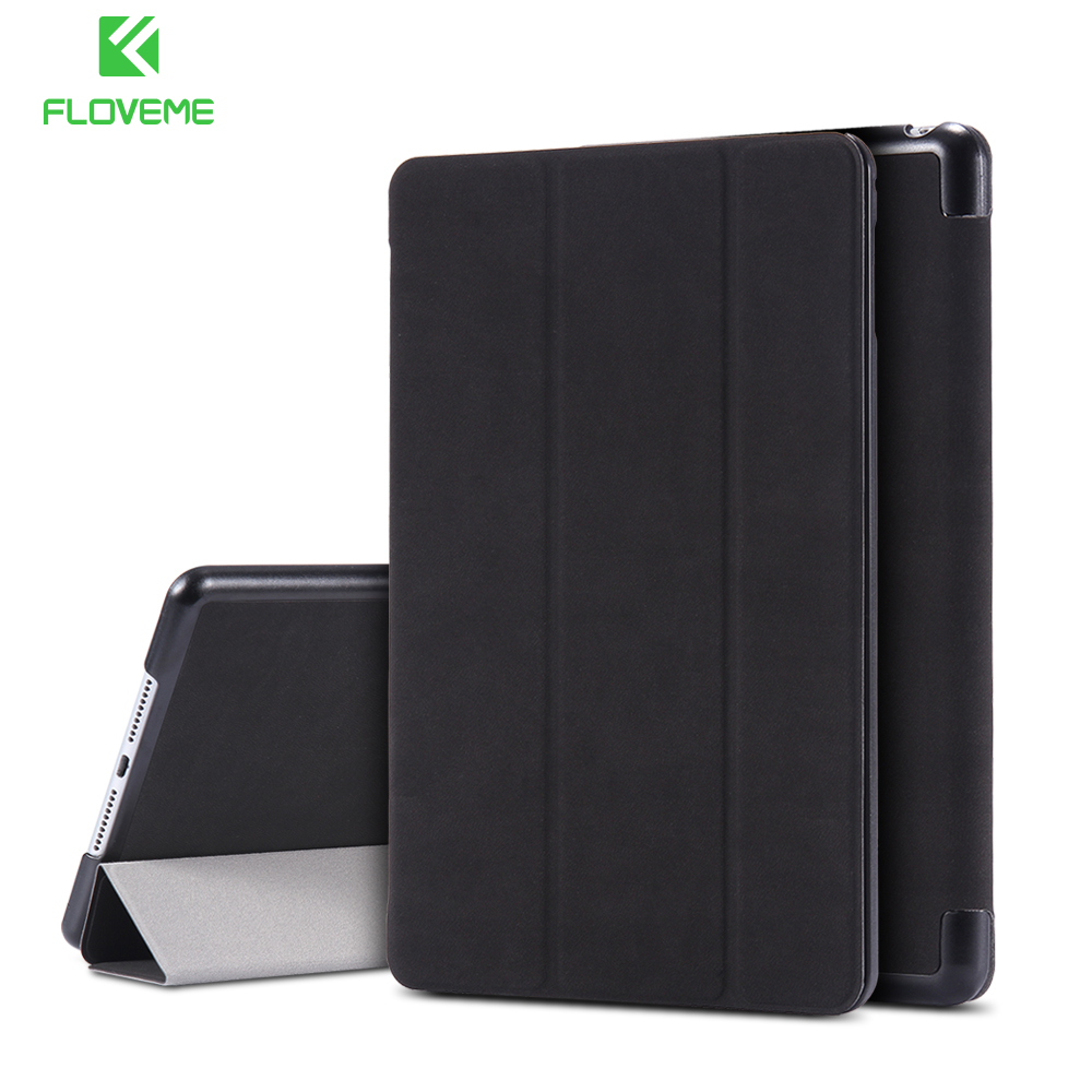 FLOVEME Case For iPad Mini 1 2 3 Fold Stand Holder Cases For iPad Mini 1 2 3 Flip Leather Shockproof Case Tablet Accessories floveme aluminum tablets stand case for ipad 2 3 4 air 2 mini for iphone 5s 6 6s 7 plus for galaxy s7 edge flexible angle adjust