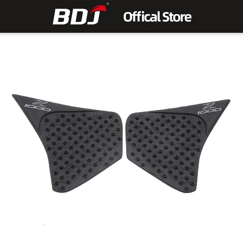 BDJ For Kawasaki Z1000 2014 2015 2016 Motor Accessories Silica Gel Traction Decal Knee Protector Motors Tank Pad Sticker