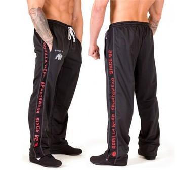 Męskie spodnie dresowe dla joggerów 2020 nowe mody luźne spodnie biegaczy pasiaste spodnie odzież gimnastyczna męskie Fitness treningowe spodnie sportowe tanie i dobre opinie Proste CN (pochodzenie) Mieszkanie Poliester spandex List 26 77 - 31 5 Na co dzień Midweight Czesankowej Pełnej długości