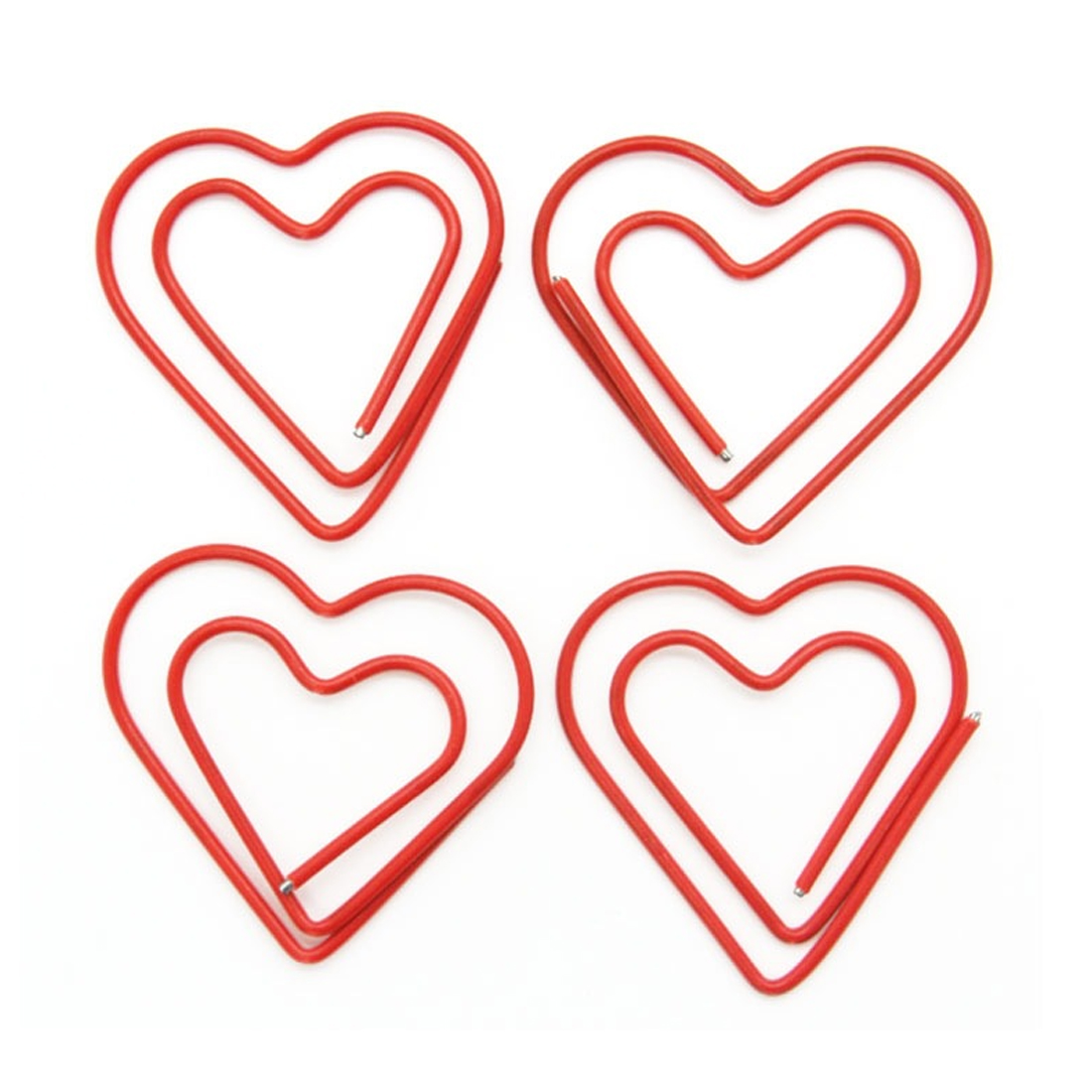 FangNymph 10Pcs/pack Beautiful Love Heart Graffette Metal Material Marcadores For Book Stationery School Office Supplies