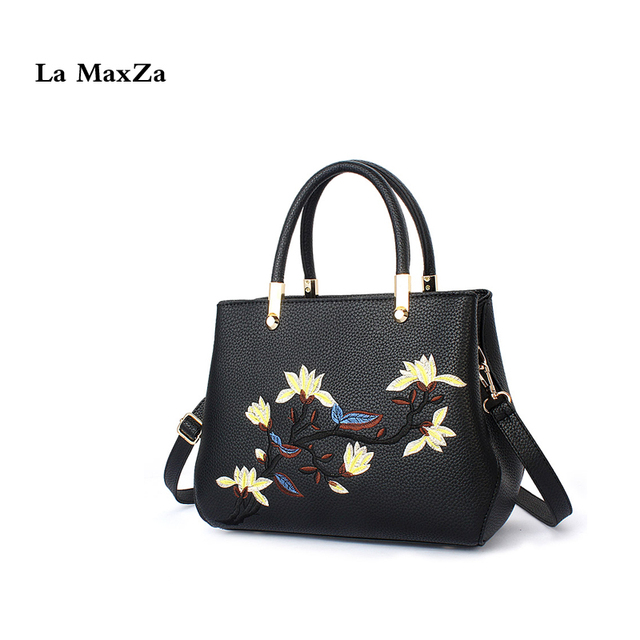 La Maxza China Style Handbags Plum Flowers Shoulder Lady Purses And Leisure Top