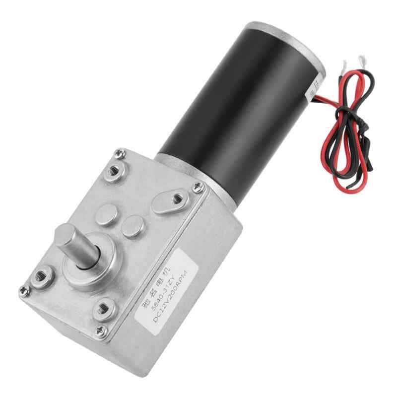 1 предмет 12В редукторный 200 об/мин 5840-31ZY постоянного тока с постоянным магнитом Turbo червячный редуктор сокращения