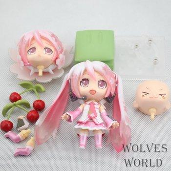 Anime Figure 10CM Nendoroid Hatsune Miku Sakura Miku #274 PVC Action Figure Set Model Collection Toy Brinquedos Christmas Gift 1