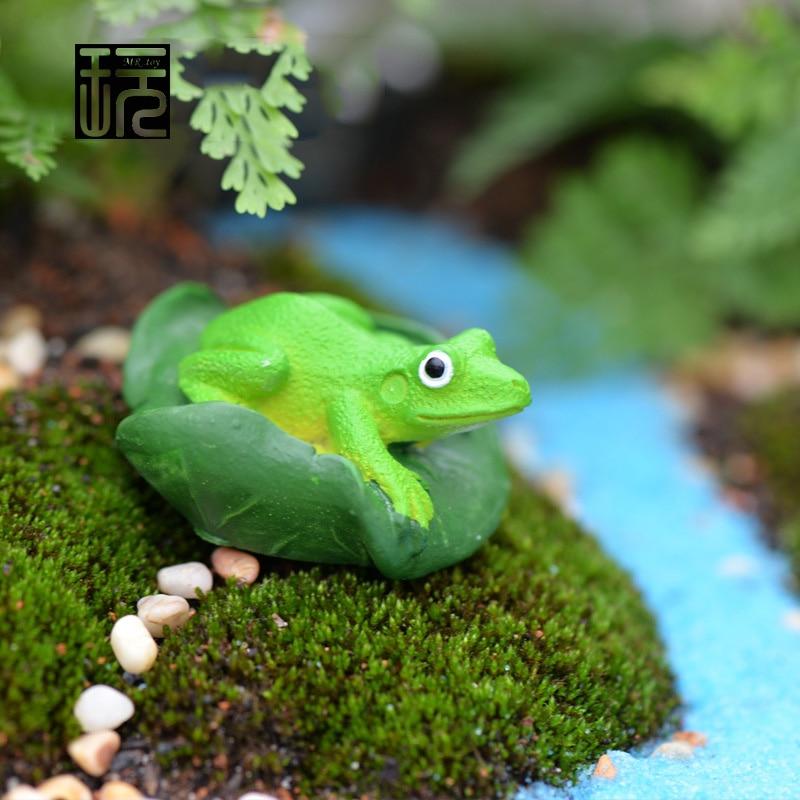 Stone Animals Figurine Erfly Bee Snails Frog Dragonfly Ladybug Fairy