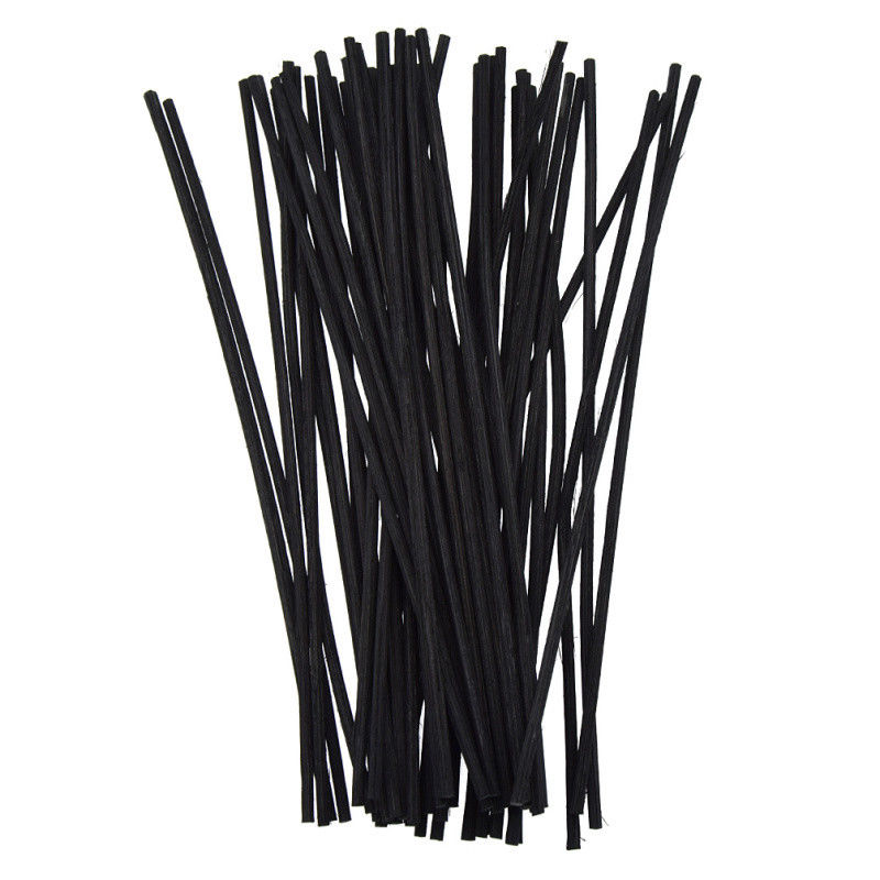 50Pcs Rattan Reed Sticks Fragrance Oil Diffuser Replacement Aroma Stick for Bathrooms Home Fragrance Diffuser