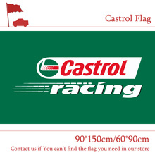 Free shipping 90*150cm 60*90cm Castrol Racing Flag Country Selector,Castrol Global Home Banner Polyster