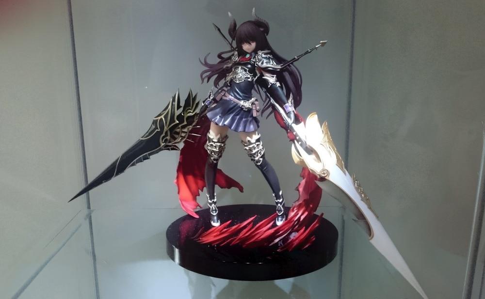 HKXZM figurine Anime 24 CM Kotobukiya Rage de Bahamut Dragon foncé cavalier Forte la Figure en PVC consacrée à collectionner jouet modèle cadeau