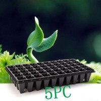 5 UNID 21 & 32 50 Agujeros Flor Vegetal Semillas de Plantadoras macetas Bandeja de Plántulas de Vivero de Plantas de Jardín Plan Placa para Jardín de Su Casa