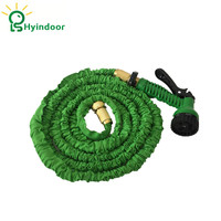 25Ft (7.5m) Green Garden Flexible Expand Water Hoses Plumbing Hoses