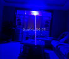 Sale Special offer Professional NEW High Power 450nm 500000mw 500Watt blue laser pointer burning match/candle/black/Cigarettes+5 caps
