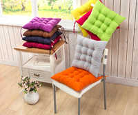 12 Colors 40x40cm Seat Cushion Pearl Cotton Chair Back Seat Cushion Sofa Pillow Buttocks Comfortable Chair Cushion Home Decor