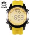 Smael digital deportes reloj de los hombres fecha reloj despertador led digitaces de la moda de aleación de reloj masculino del relogio regalos de cumpleaños para los hombres ws1076