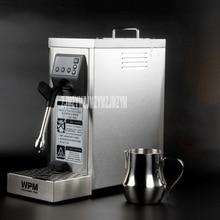 220 V/1450 W bomba MS-130D profesional doble agujero en relieve negocio de máquinas de vapor de la leche máquina de café con leche
