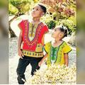 2017 Cotton African Clothing Dashiki Dresses Real Boys Children Kids In Africa The New National Style T-shirts Printed