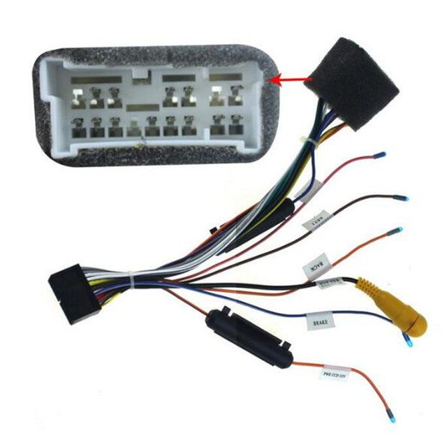 joying automotive fit for hyundai plugs into head unit stereo cd dvd rh aliexpress com car dvd wiring harness pioneer dvd wiring harness