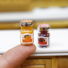Miniature Food Dollhouse Kitchen-Accessories Pretend Play for 2pcs/Lot