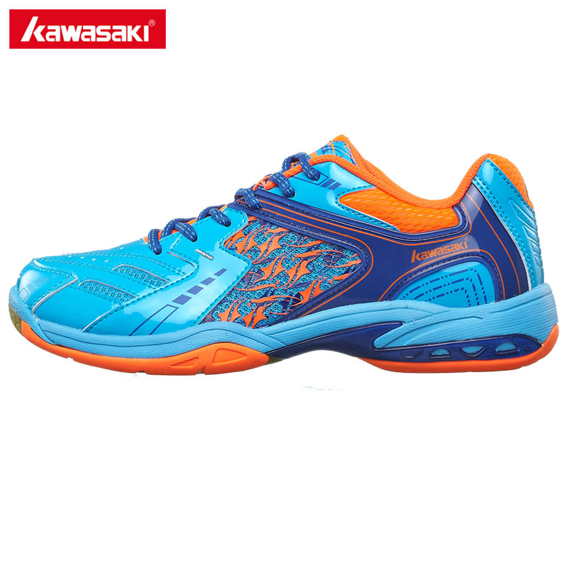 2017 Brands Kawasaki Breathable Badminton Shoes For Men Woman Anti-Slippery PVC Floor Sport Sneakers K-335 professional brand kawasaki badminton shoes 2017 sport sneakers for men women anti slippery pvc floor sports shoe k 065 k 066