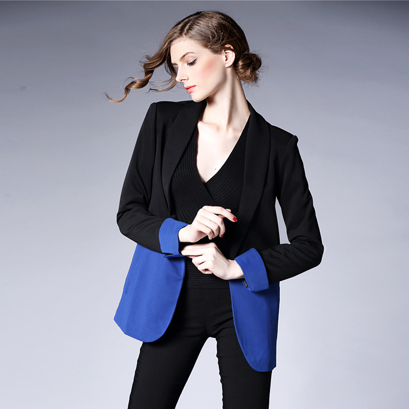 Online Buy Wholesale Royal Blue Blazer Women From China