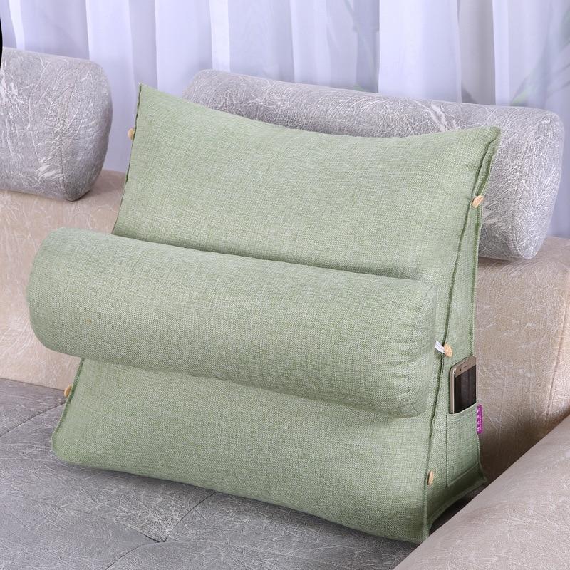 HTB1dTt0XE4WMKJjSspmq6AznpXaU Adjustable Lumbar Cushion Back Support Pillow Cushion Home Office Car Sofa Seat Supports Chair Pillow Sofa Waist Cushion Pillow