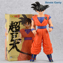Dragon Ball Z Super Saiyan Son Goku Super Big battle of gods Goku Resurrection F Action Figure Collection 43cm