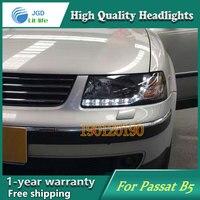 JGD Фирменная Новинка Стайлинг для VW PASSAT B5 светодиодный фар 2000 2007 фары Би ксеноновые лампы головного света светодиодный ДРЛ огни для автомоби