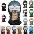 Envío de secado rápido Ultra delgado Realtree completo capucha caza Camo del casquillo del camuflaje CS Veil Balaclava protección UV Full Face Mask