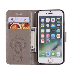 """for iPhone 8 Case iPhone 7 Cover Flip Leather Wallet Phone Bags for Apple iPhone 7 8 Magnetic Flip Card Slot Stand Cases  4.7"""" 4"""