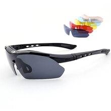 Fishing Sunglasses Eyewear with Four lens Polarized UV400 Fishing Riding&Hiking Eyewear Day/Night Vision Glasses