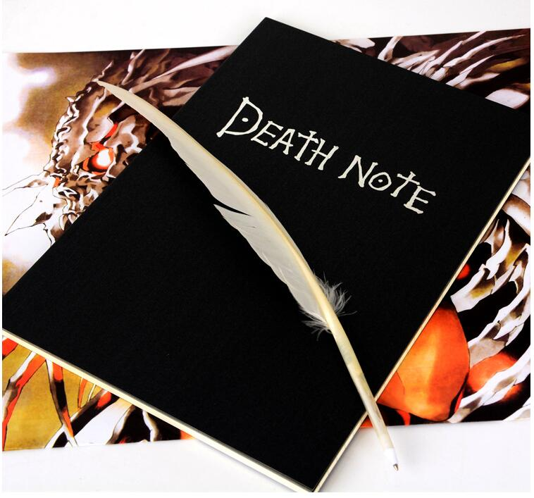2018 Planner Anime Death Note <font><b>Book</b></font> Lovely Fashion Theme Ryuk Cosplay Notebook New School Supplies Large Writing Journal
