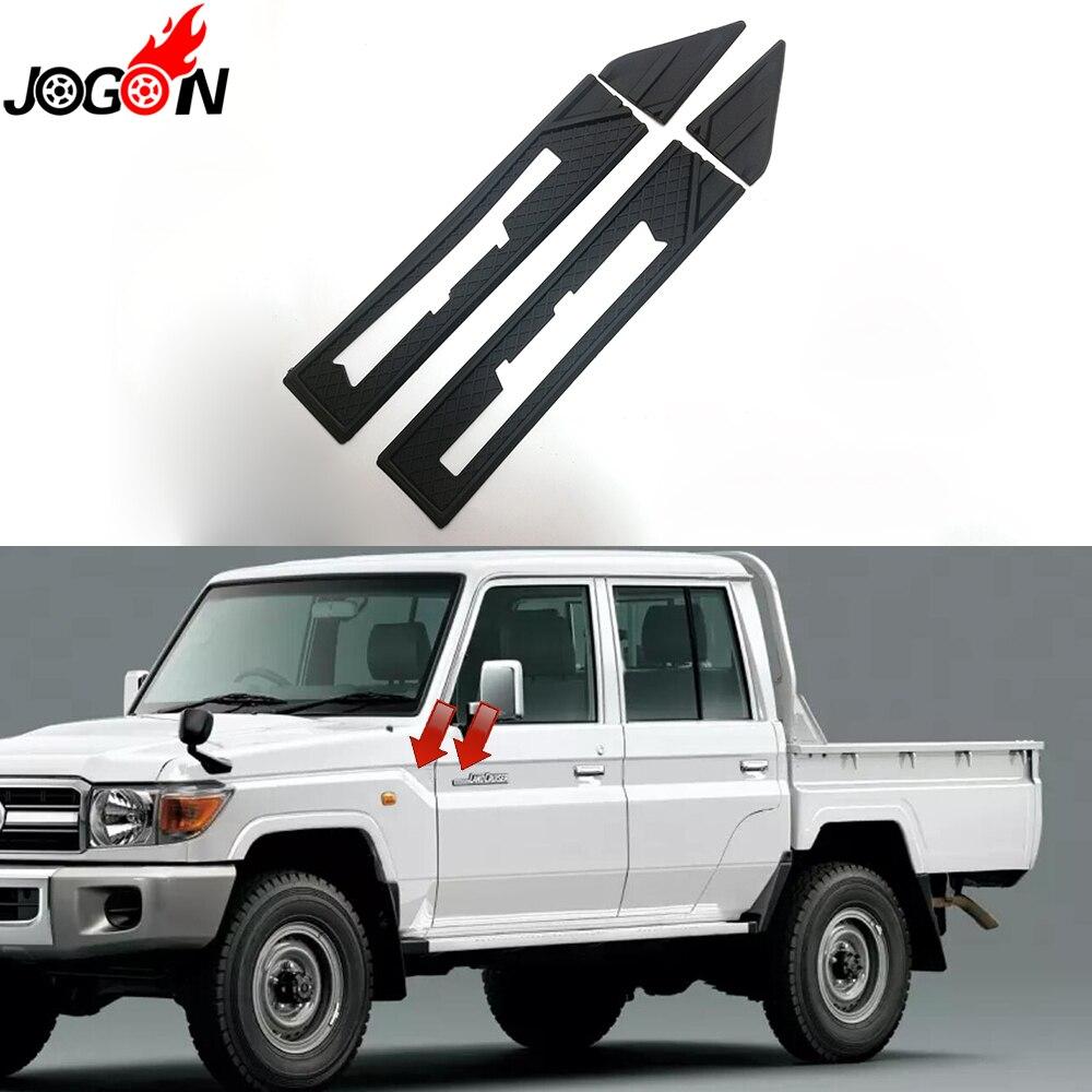 For Toyota Land Cruiser LC76 LC78 LC79 FJ79 Car Side Logo Frame Body Fender Cover Trim