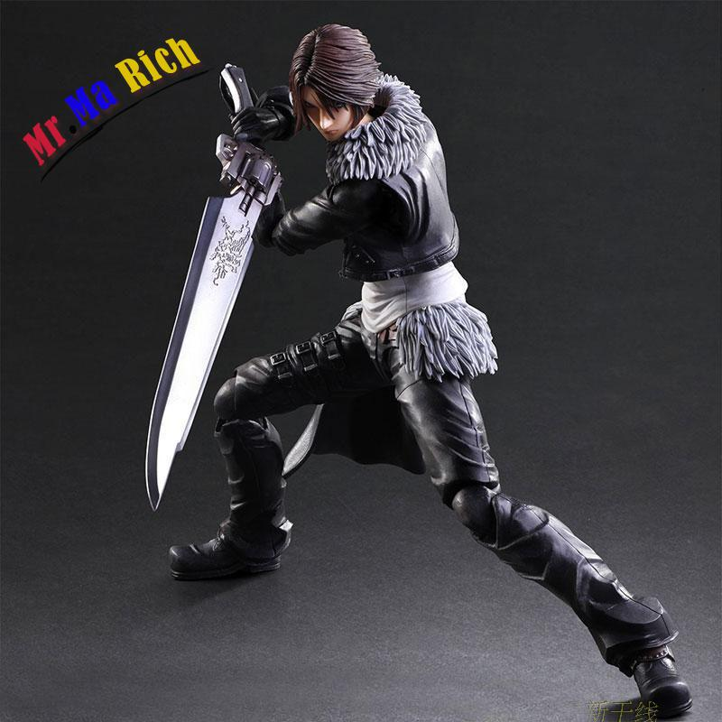 Us 57 59 38 Off Anime Play Arts Kai Pa Final Fantasy Viii Ff8 Squall Leonhart Figure Toy Model In Action Toy Figures From Toys Hobbies On