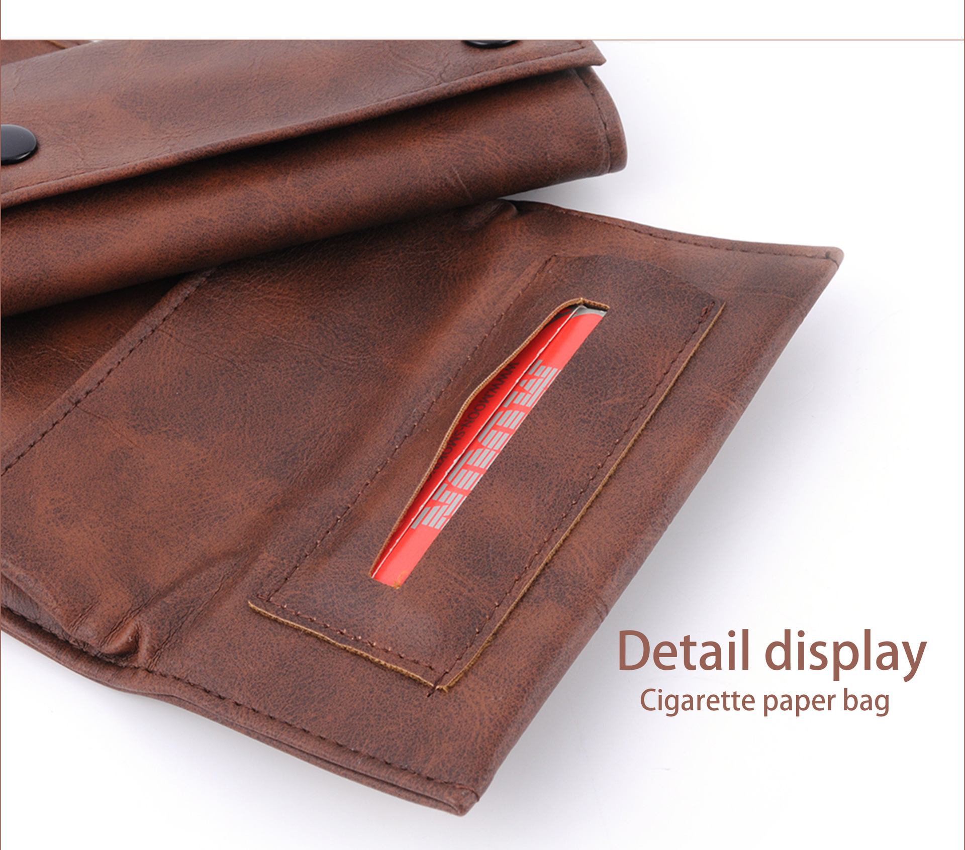 Faux Leather Tobacco Pouch The Rolling Stones