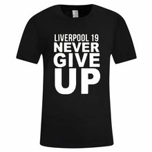 Liverpool mannen t-shirt Fashion Brief Printing Korte Mouw T-Shirt Zomer Casual Comfort Tee Tops Streetwear Camisa masculina(China)