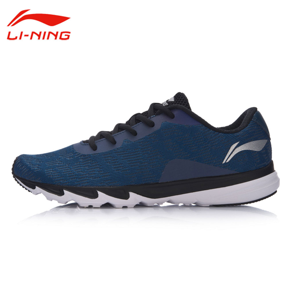Li-Ning Men's Reflective Light Running Shoes LiNing Breathable Cushioning Sports Sneakers Li Ning Blast Running Shoes ARBM117 li ning brand men s professional basketball shoes cushioning breathable wade series team 4 sports sneakers lining abam013