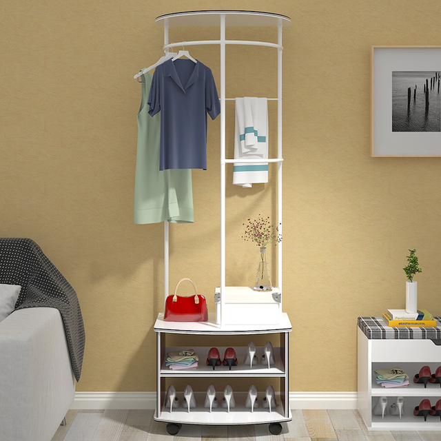 2016 New Design Closet Organizer Garment Rack Portable Clothes Hanger Home  Shelf
