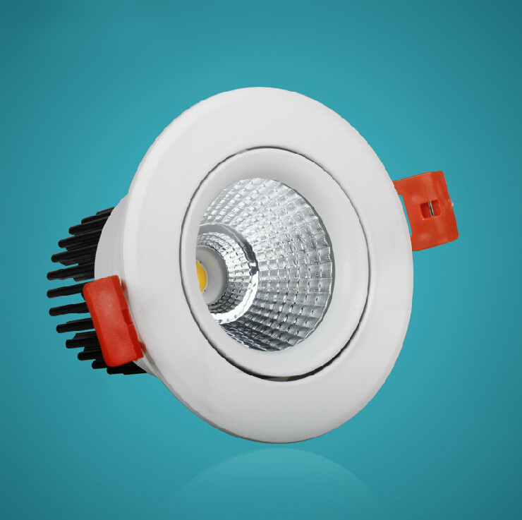 цена Free shipping Hot sale!!! 25W COB LED Downlight AC85-265V Cool/Warm White CE&ROHS 25W COB LED Spotlight Ceiling