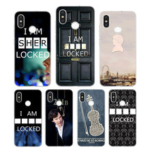 Silicone Phone Case 221B i am Sherlock Holmes Printing for Xiaomi Mi 6 8 9 SE A1 5X A2 6X Mix 3 Play F1 Pro Lite Cover