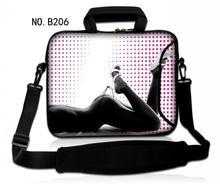 Woman Bikini Neoprene Males Girl Laptop computer Shoulder Bag Transportable Purse Case Briefcase Messenger Bag for 11″ 12″ 13″ 14″ 15″ 17″