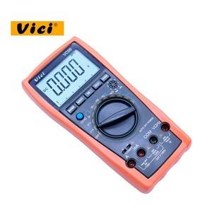 Image 5 - VICI VC99 LCD הדיגיטלי מודד 1000V AC DC התנגדות קיבול מד + תרמית זוג מדחום בודק עם פאוץ תיק